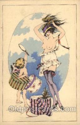art100134 - Nude Postcard Post Card