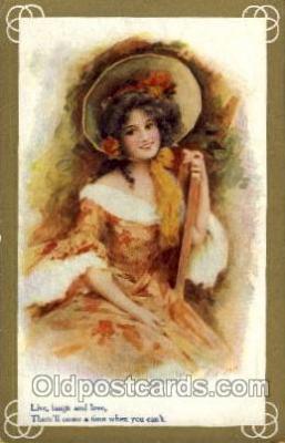art100238 - Artist Unknown postcard Post Card