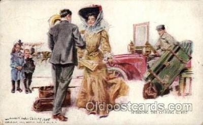 Artist Howard Chandler Christy, Postcard Post Card
