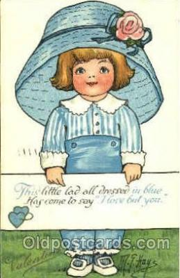 art100431 - Artist M.G. Hays Postcard Post Card