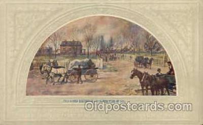 Ogden Residence Artist Signed Post Card Post Card