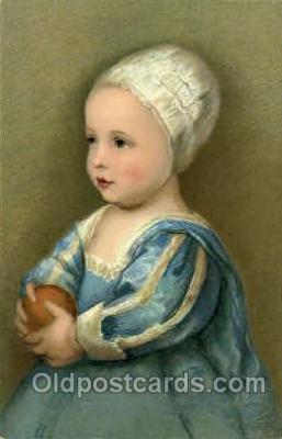 art100500 - Anton Van Dyck Sohn Karls I von England Artist Signed Post Card Post Card