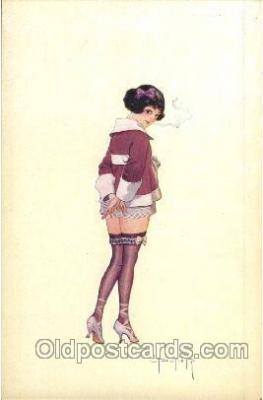 art125010 - Artist Peltier Postcard Post Card
