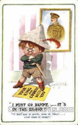 art148001 - Donald McGill Postcard Post Card