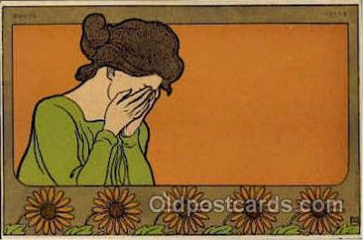 art160001 - Henri Meunier Postcard Post Card