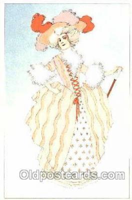 art160011 - Artist Henri Meunier Postcard Post Card
