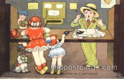 art176030 - Artist Margret Boriss (Netherlands) Postcard Post Card