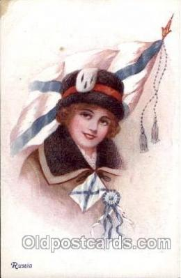 Russia,   Artist Ethal C. Brisley (United Kingdom Artist) Postcard Post Card
