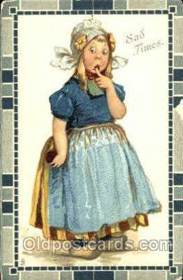art210008 - Artist Frances Brundage, Postcard Post Card