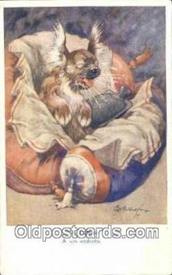 art266017 - Artist Studdy Postcard