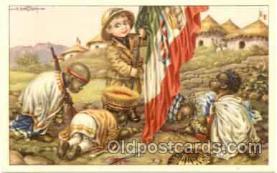 art005038 - Artist Aurelio Bertiglia (Italy) Postcard Post Card