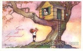 art006056 - Artist Adolfo Busi Postcard Post Card
