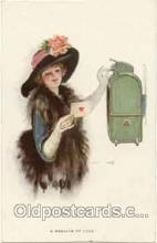 art009017 - Artist Earl F. Christy (USA) Postcard Post Card
