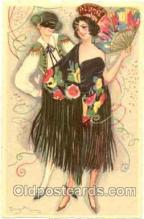 Artist Sofia Chiostri, also known as (Fofi), (Italy) Postcard Post Card