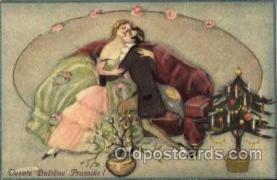 art010108 - Chiostri Postcard
