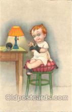 Artist E. Colombo Postcard Post Card