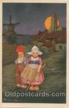 art011084 - Artist E. Colombo Postcard Post Card