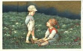 art011155 - Artist E. Colombo Postcard Post Card