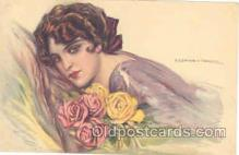 art012060 - Artist Tito Corbella (Italy) Postcard Post Card