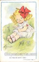 art014025 - Grace Drayton; Wiederseim Postcard