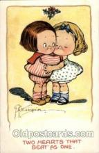 art014127 - Two hearts that beat as one Artist Wiederseim / Drayton Postcard Post Card
