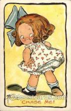 art014129 - Chase me! Artist Wiederseim / Drayton Postcard Post Card