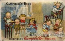 art014141 - Campbells Soup Advertising Campbells Soup, Artist Wiederseim / Drayton Postcard Post Card