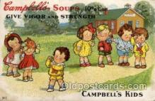 art014142 - Campbells Soup Advertising Campbells Soup, Artist Wiederseim / Drayton Postcard Post Card