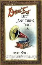 art015008 - Artist Signed Dwig Dwiggens Postcard Post Card