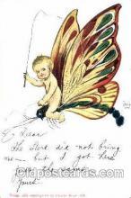 Artist Signed Dwig Dwiggens Postcard Post Card