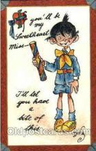 art015103 - Artist Dwiggins (Dwig) Postcard Post Card