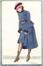 art017013 - Artist F. Fabiano (France) Postcard Post Card