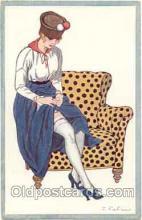 art017028 - Artist F. Fabiano (France) Postcard Post Card