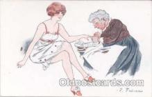 art017049 - Artist F. Fabiano (France) Postcard Post Card