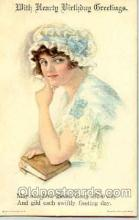art018007 - Artist Alice Luella Fidler (USA) Postcard Post Card