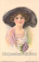 art018034 - Artist Alice Luella Fidler (USA) Postcard Post Card