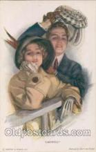 art021045 - Artist Harrison Fisher (USA) Postcard Post Card