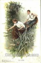 art021124 - Harrison Fisher Postcard Post Card