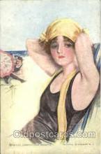 art021155 - Harrison Fisher Postcard Post Card
