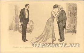 art023019 - Charles Dana Gibson (USA) Postcard Post Card