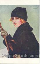 art028001 - Artist G. Herve (France) Postcard Post Card
