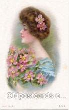 art030005 - Artist Maud Humphrey (USA) Postcard Post Card