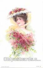 art030007 - Artist Maud Humphrey (USA) Postcard Post Card