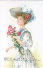 art030017 - Artist Maud Humphrey (USA) Postcard Post Card