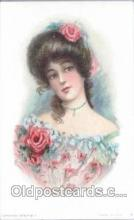 art030020 - Artist Maud Humphrey (USA) Postcard Post Card