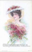 art030024 - Artist Maud Humphrey (USA) Postcard Post Card