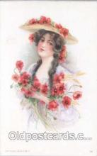 art030034 - Artist Maud Humphrey (USA) Postcard Post Card