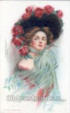 art030035 - Artist Maud Humphrey (USA) Postcard Post Card