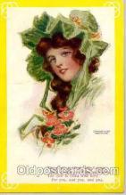 art034005 - Artist Hamilton King (USA) Postcard Post Card