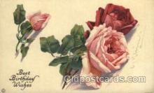 art035184 - Artist Catherine Klein (Germany) Flower Postcard Post Card